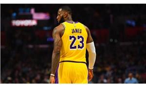 LeBron James rekor kırdı, Lakers kazandı