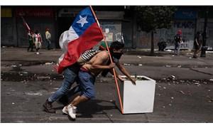 Şili'de direnenler geri adım attırdı: Polisin plastik mermi kullanımı askıya alındı