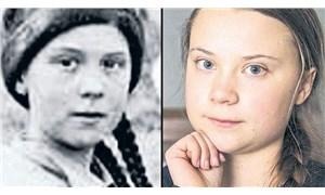 Fotoğraftaki 'Greta Thunberg' benzerliği sosyal medyayı karıştırdı