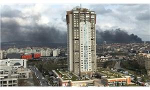 Çekmeköy'de askeri alanda yangın!