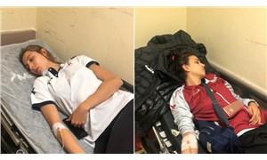 10 voleybolcu hastanelik oldu, maç ertelendi