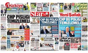 Yandaş gazetelere CHP görevi: Hepsi tek manşet!