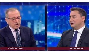 Ali Babacan: Problemlerin mevcut yönetimle çözülemeyeceğini gördük