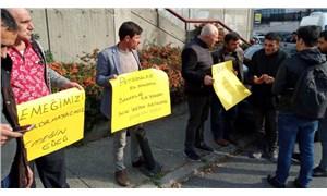 Patronların kredi oyununa protesto