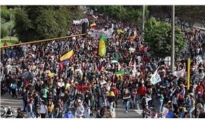 Kolombiya yarın genel greve gidiyor