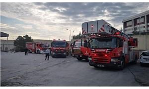İstanbul Tuzla'da fabrika yangını