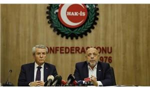 Türk-İş, asgari ücret görüşmesi öncesi Hak-İş'i ziyaret etti