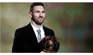 Ballon d'Or ödülü 6. kez Messi'nin