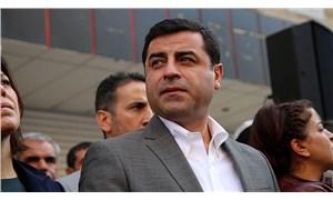 Demirtaş'a destek eyleminde 5 kişi gözaltına alındı