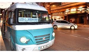 İzmir'de minibüs ücretlerine yüzde 17 zam