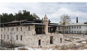 Roma İmparatorluğu'ndan kalma yapıya metal çatı