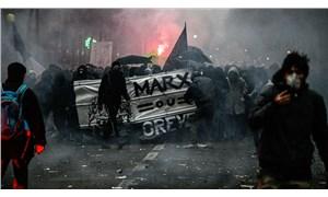 Fransa'daki genel grev ikinci gününde
