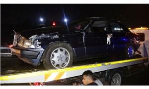 TEM'de trafik kazası: 2 kişi yaralandı