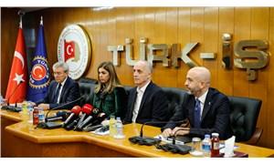 Türk-İş'in kırmızı çizgisi 2 bin 578 lira