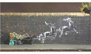 Banksy'nin son eseri tahrif edildi