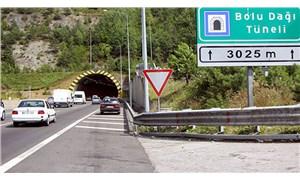 Bolu Dağı Tüneli yarın iki yönlü olarak trafiğe kapatılacak