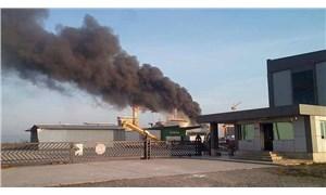 Yalova'da tersanede yangın: 45 dakikada kontrol altına alındı