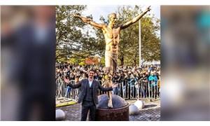 İbrahimovic'in heykeli üçüncü kez saldırıya uğradı