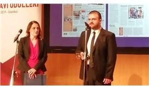 Sedat Simavi Ödülleri sahiplerini buldu: BirGün muhabiri Şahin ödülünü aldı