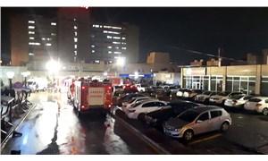 Ankara'da hastane arşivinde yangın: Belgeler kullanılamaz hale geldi
