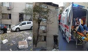 Şişli'de 6 katlı binada çökme