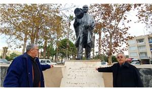 Mersin'de Atatürk Anıtı'na saldırı