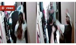 'Gürültü yapmayın' mesajı attığı için komşularını döven saldırganlar kamerada