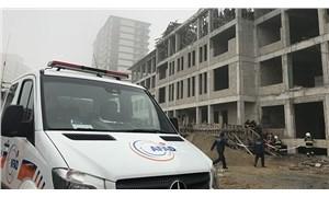 Ankara'da iş cinayeti: Okul inşaatında iskele çöktü, 1 işçi yaşamını yitirdi