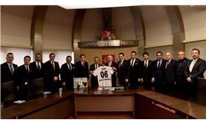Beşiktaş Başkanı Çebi'den Kılıçdaroğlu'na ziyaret