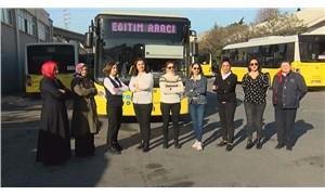 İETT'nin kadın şoförleri yollara hazır