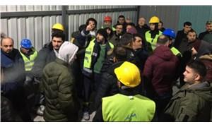 İş güvenliği isteyen madenciler grevdeydi