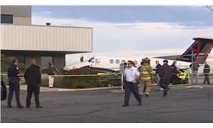 17 yaşındaki çocuk piste girip çaldığı uçakla kaza yaptı