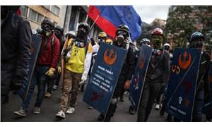 Kolombiya'da gösteriler devam ediyor