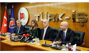 Türk-İş, Hak-İş ve DİSK'ten ortak açıklama: İnsan onuruna yaraşır bir ücret olmalı