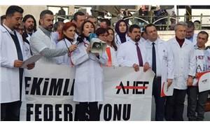 Aile hekimlerinden 'sağlıkta şiddet' protestosu