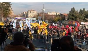 KESK'ten Diyarbakır'da 'insanca yaşam' mitingi