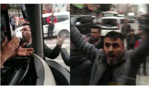 'Otomobillerine sürttüğü' diye İETT otobüsüne saldırdılar