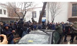 Polis yine Las Tesis dansına izin vermedi: 8 gözaltı
