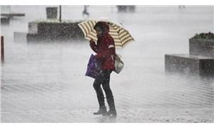 Meteoroloji'den 5 il için kuvvetli rüzgar ve yağış uyarısı