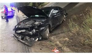 AKP'li Mahir Ünal'ın makam aracı kaza yaptı: 4 yaralı