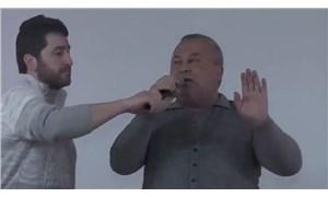 MHP'li Enginyurt Cumhur İttifakı övgüsü yapınca sahneden indirildi