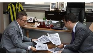 İBB Başkanı Ekrem İmamoğlu'ndan Sözcü gazetesine ziyaret