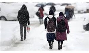 Konya'nın 5 ilçesinde eğitime kar engeli