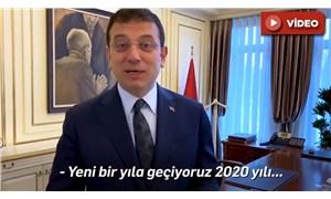 İmamoğlu'ndan yeni yıl mesajı: Demokrasi adına çok güzel mesajlar aldık 2019'dan