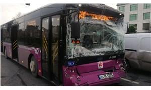 Zeytinburnu'nda İETT otobüsleri çarpıştı: 15 yaralı
