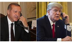 Erdoğan, Trump'la görüştü