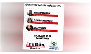 Gaziemir'de 'Türkiye'de Laiklik Mücadelesi' paneli