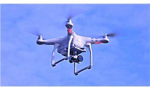 Jandarma Taksim'de polis 'drone'unu düşürdü
