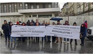 Kaçak inşaat 'durdurma' kararına rağmen mühürlenmiyor