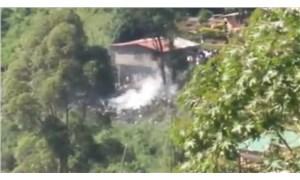 Sri Lanka'da askeri uçak düştü: 4 ölü, 1 yaralı